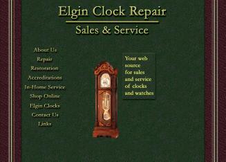Elgin Clock Repair