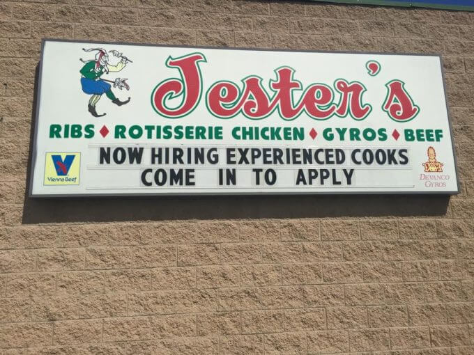 Jester's Fast Food