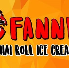 Fanny's Thai Roll Ice Cream