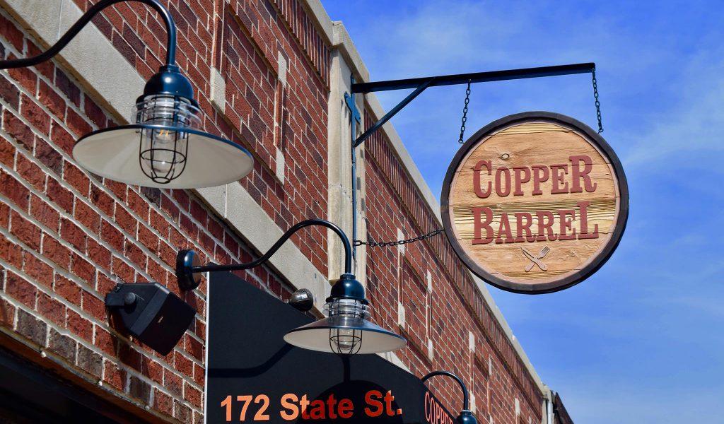 Copper Barrel on State
