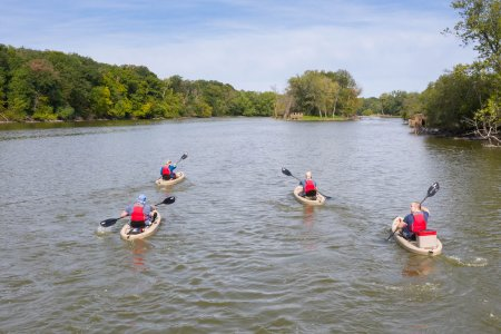Kayaking the Fox River Water Trails