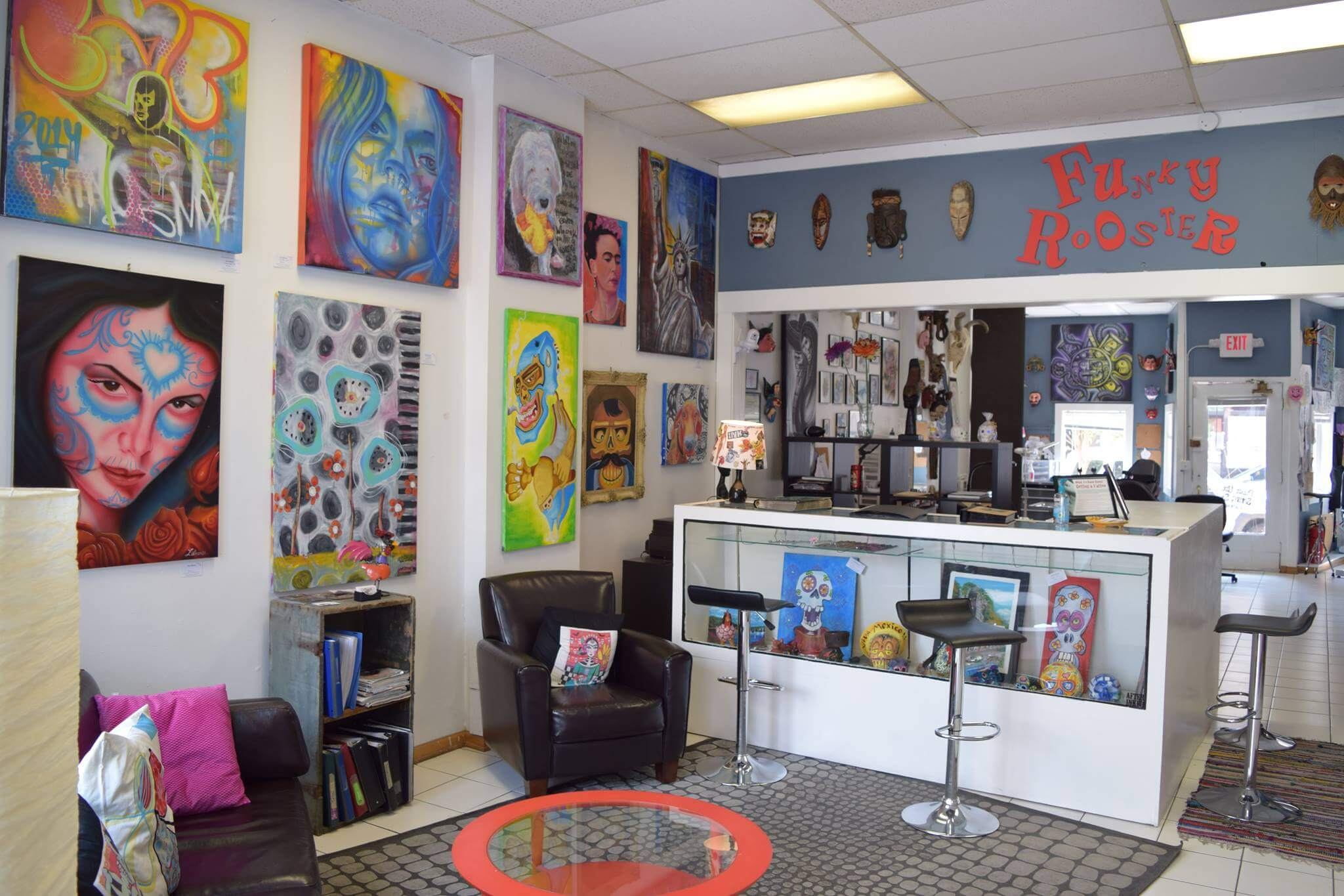 Funky Rooster Tattoo and Art Gallery