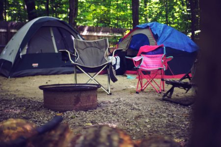 Summer Camping Places & Spaces